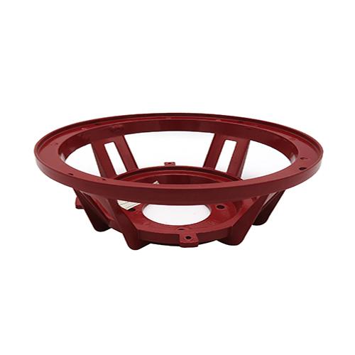 China 8 inch red speaker AL frame