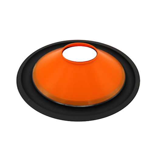 Market price 4 inch orange PP cone factory in China