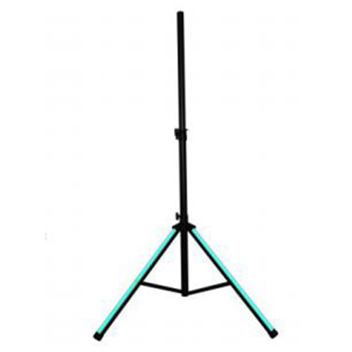 Professional 1.4m speaker stand with RGB light