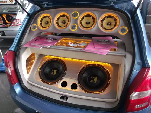 Car speaker working principle