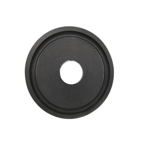 Dependable 5.25 inch sliver press-paper cone with black color foam edge with competitive price