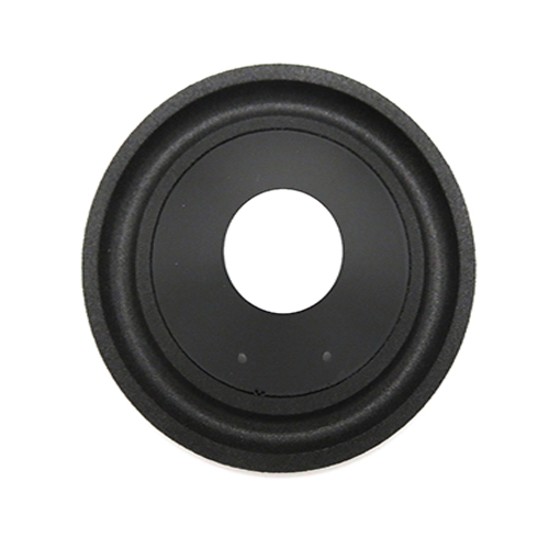 Top 4 inch black PP cone with foam edge with discount price