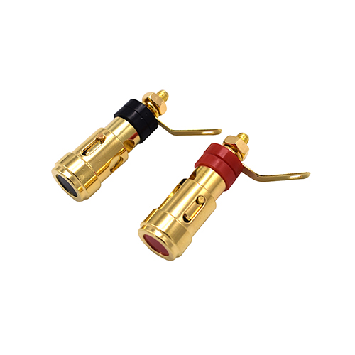 Golden terminal pillar HTZ001 for speaker components manufacturer